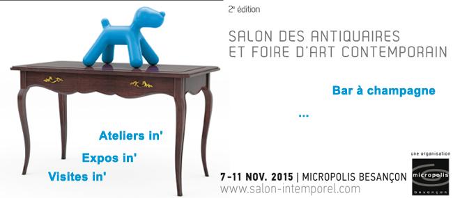 Accueil   Salon des Antiquaires   MICROPOLIS Besançon